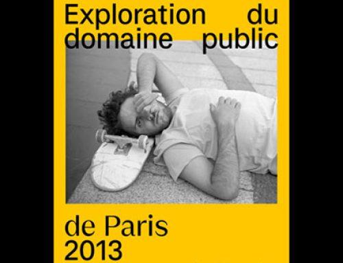 """""""Exploration du domaine public"""" une exposition de Skateboard à ciel ouvert dans Paris !"""