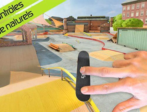 Le jeu de Touchgrind Skate 2 sur téléphone !