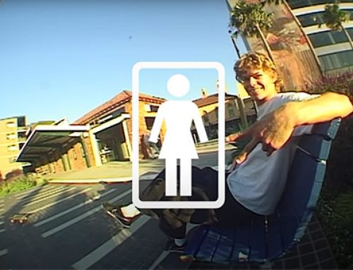 "Rowan Davis et Girl Skateboards présente ""Civic Central"""